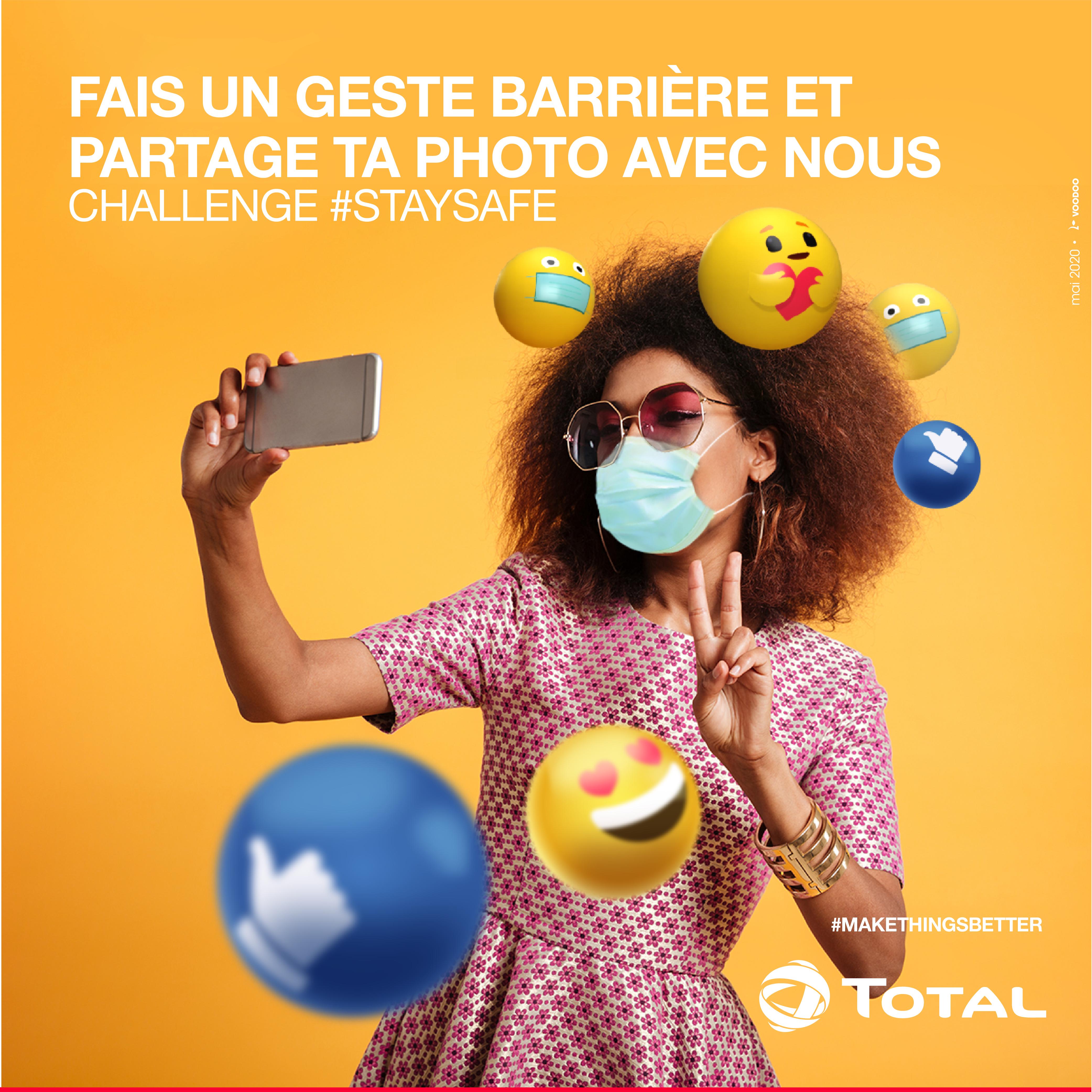 Total Cameroun - Challenge #StaySafe