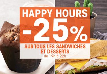 promo Happy Hours